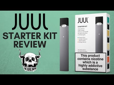 JUUL Starter Kit Review - (UK Version) Is the hype real?? - YouTube