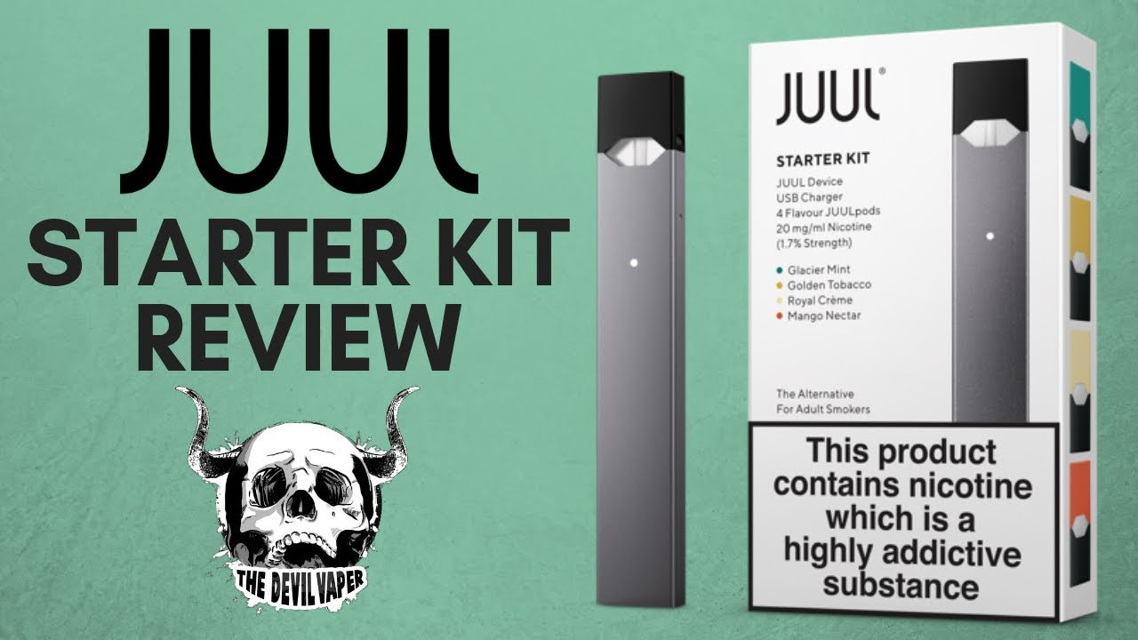 JUUL Starter Kit Review - (UK Version) Is the hype real??