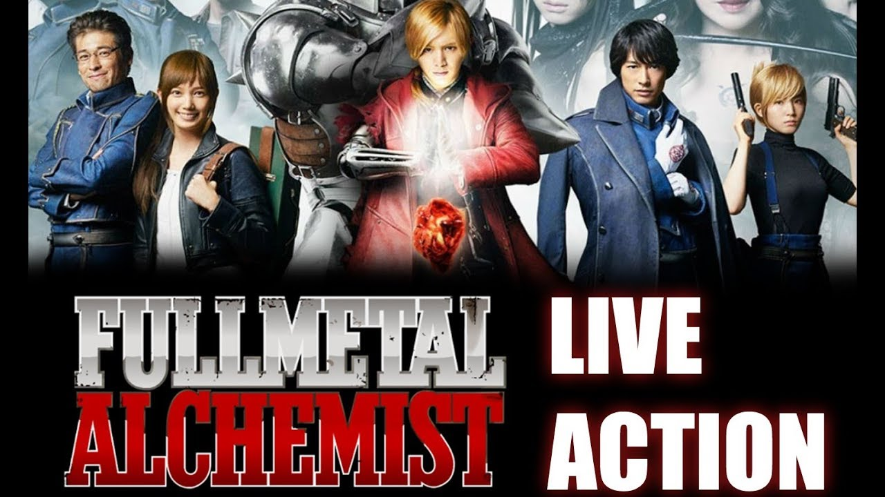 REVIEW: Full Metal Alchemist Live Action!! - YouTube