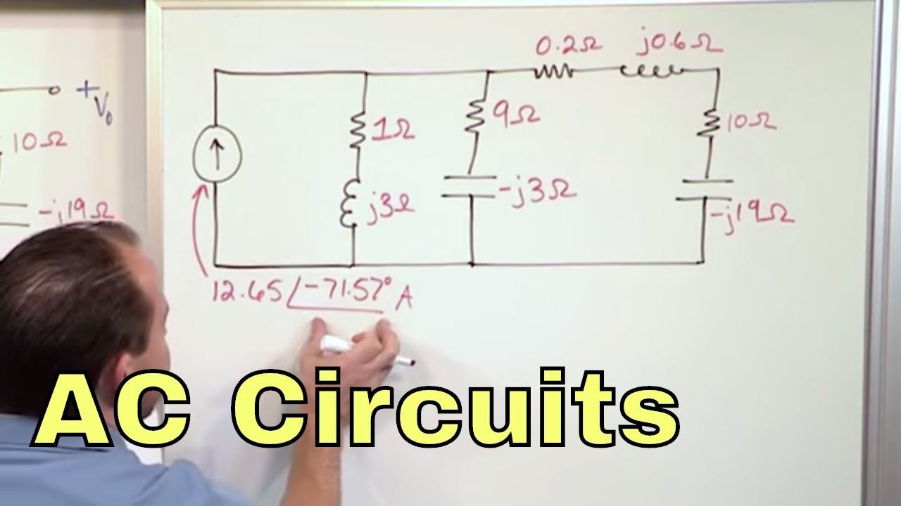 ac circuits We will use a cool method of describing the oscillation of current and voltage called phasors, which are fixed-length vectors that rotate at a constant frequ.