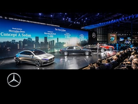 +++ LIVE +++ Mercedes-Benz press conference #AutoShanghai 2017