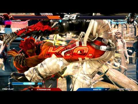 CEO 2016: Tekken 7 FR: Auction Tournament: TS Poongko vs Kodee