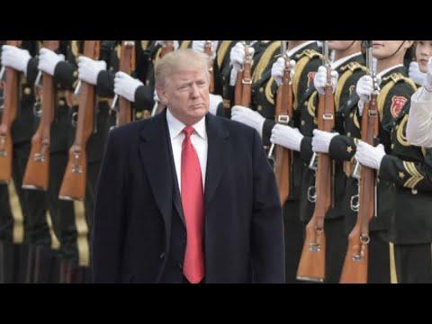 Trump blames China for lack of progress on North Korea talks