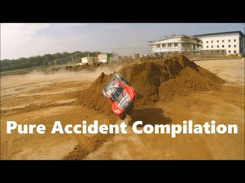 Traxxas Slash 4x4 Pure Accident Compilation