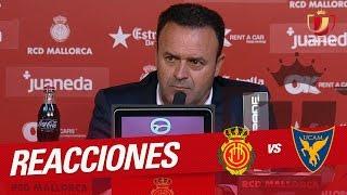 Rueda de prensa de Salmerón RCD Mallorca vs UCAM Murcia (1-2)