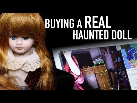 Buying A Haunted Doll On eBay GHOST CAPTURED // collab with Kyla Rebecca