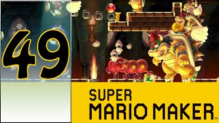 Super Mario Maker (WiiU) - #49 - Yoshi is Awesome!