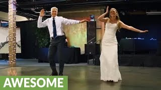 father-daughter-pull-off-epic-surprise-dance-at-wedding-reception
