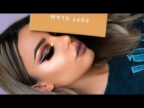 TUTORIAL WITH NEW ABH Products   Soft Glam Palette - Dilan Sabah