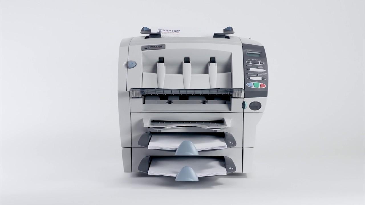 Briefe Falzen Und Kuvertieren : Kuvertiermaschine si von hefter falzen und