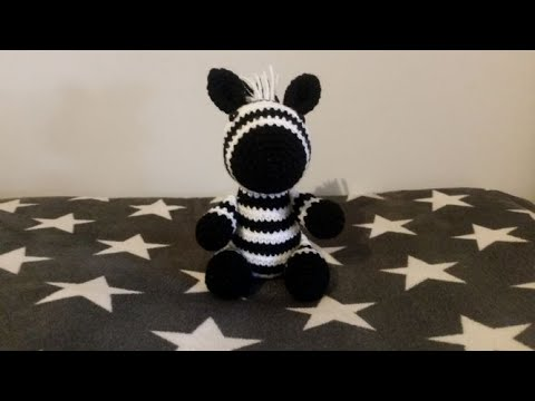 AMIGURUMI DE CROCHÊ - Zebra no Elo7 | Nanicota (A70F4F) | 360x480