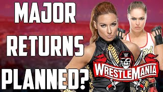 Becky Lynch WWE WrestleMania 37 RETURN Ronda Rousey WWE RETURN PLANS Bayley WrestleMania PLANS