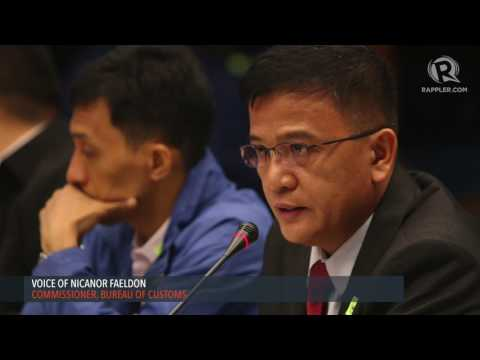 Customs chief Faeldon to politicians: Shame on you