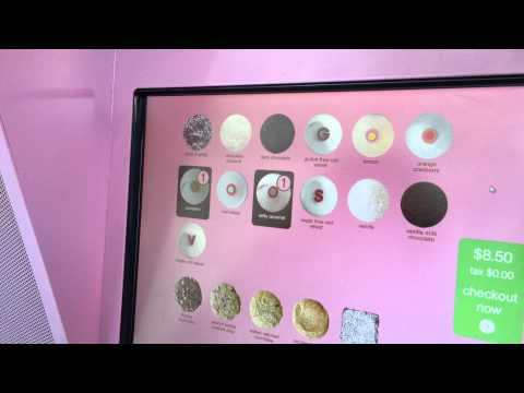 Zara gets Sprinkles cupcakes from an ATM in New York