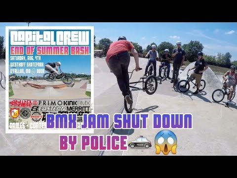BMX Jam Shut Down by Police / Capital Crew & Friends Ep. 11