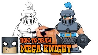 How to Draw Mega Knight | Clash Royale