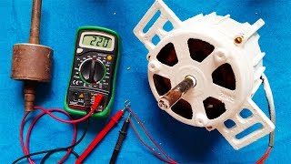 Video How to make electricity generator from any induction motor / DIY Generator download MP3, 3GP, MP4, WEBM, AVI, FLV Mei 2018