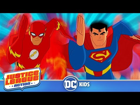 Justice League Action em Português  Flash em Ação  DC Kids