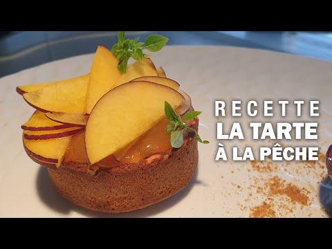 TARTE A LA PÊCHE by Massimo Tringali