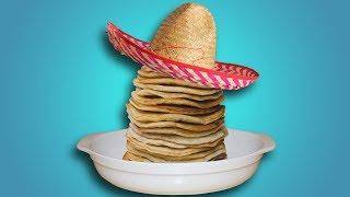 Мексиканская запеканка с блинами: Вкуснейший вегетарианский рецепт!