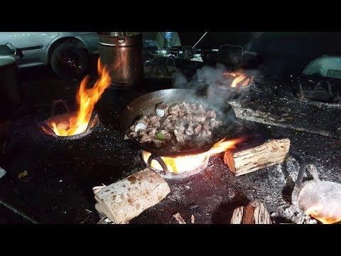 Dumba Karahi Truck Adda (Lahore)   Salted Mutton Casserole
