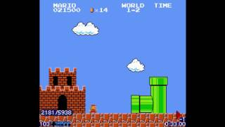 Super Mario Bros. Minus World Ending [ntsc version] (TAS) in 1:35.51