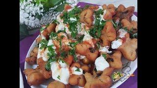 Yapımı Kolay Yemesi Çıtır Puf Puf Nefis Kayseri Yöresi Yağ Mantısı l Mutfağımdan Nefis Tarifler