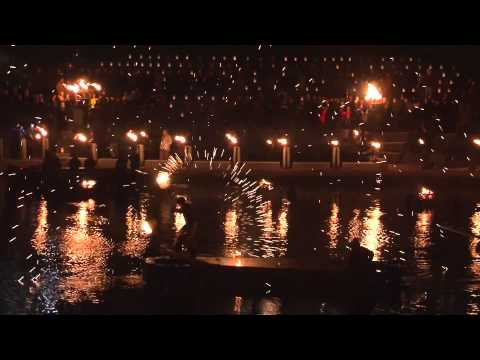 Celebrating 20 Years of WaterFire Providence | Fire Dancers at WaterFire Providence
