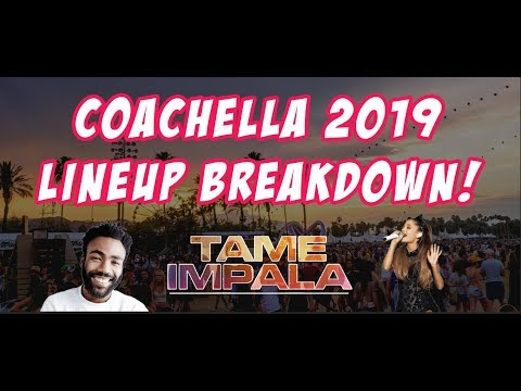 Chellacast Episode 1 - Coachella 2019 Lineup Breakdown Mp3