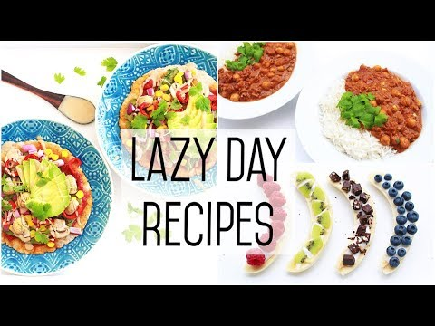 Easy Lazy Day Recipes » Healthy Meal Ideas