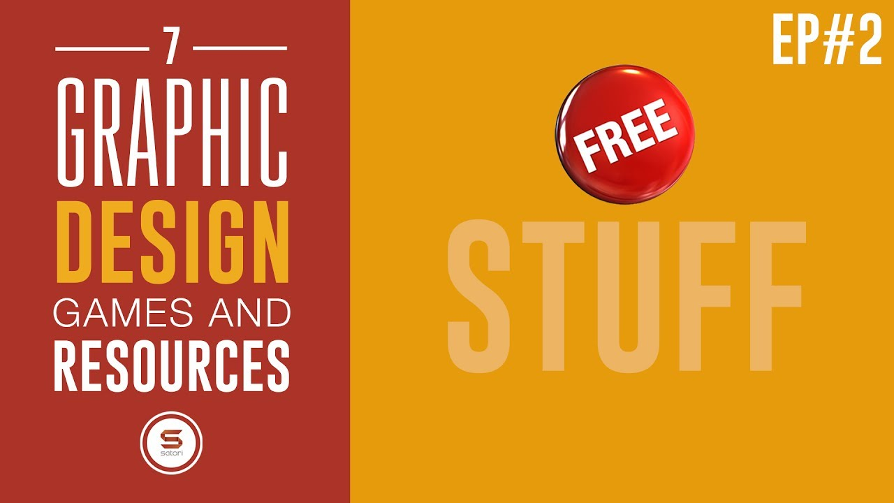 7 Free Graphic Design Games And Resources Ep2
