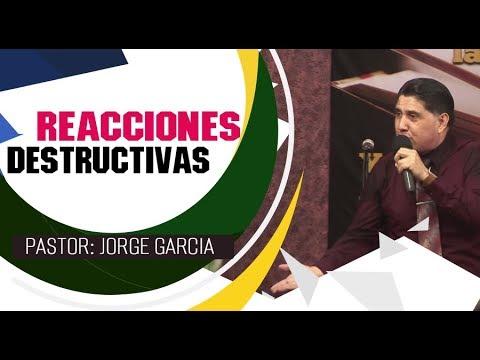 REACCIONES DESTRUCTIVAS   Pastor Jorge Garcia