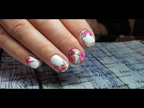 ногти гель лак дизайн фото 2018 новинки на коротких ногтях