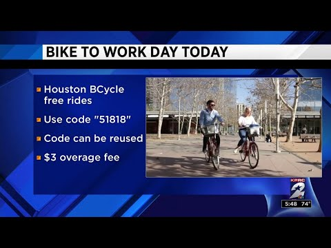 Health Headlines: Bike to Work Day in Houston