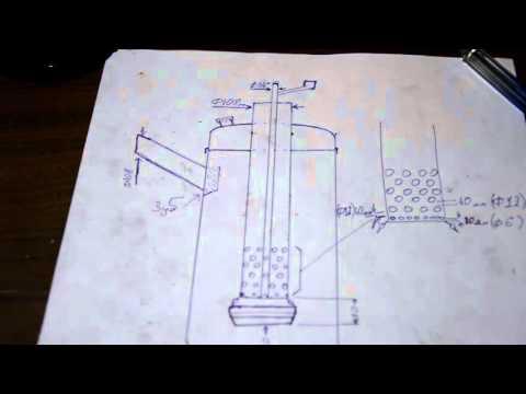 Печи на отработке капельного типа своими руками чертежи видео