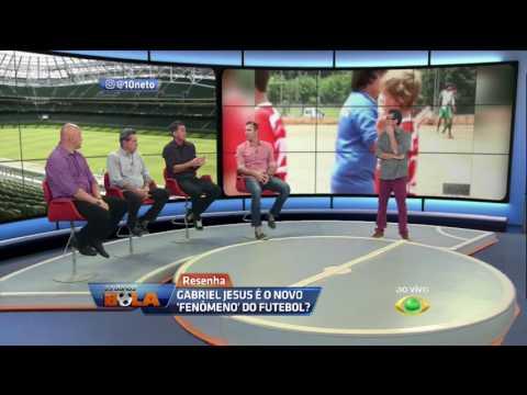 Mancini Sobre Gabriel Jesus: Depois De Neymar, é A Maior Promessa Que Temos