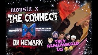 STORYTIME | MONSTA X REMEMBERS US 😭 THE CONNECT IN NEWARK + HI TOUCH FOOTAGE