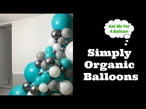 Simply Organic Balloons