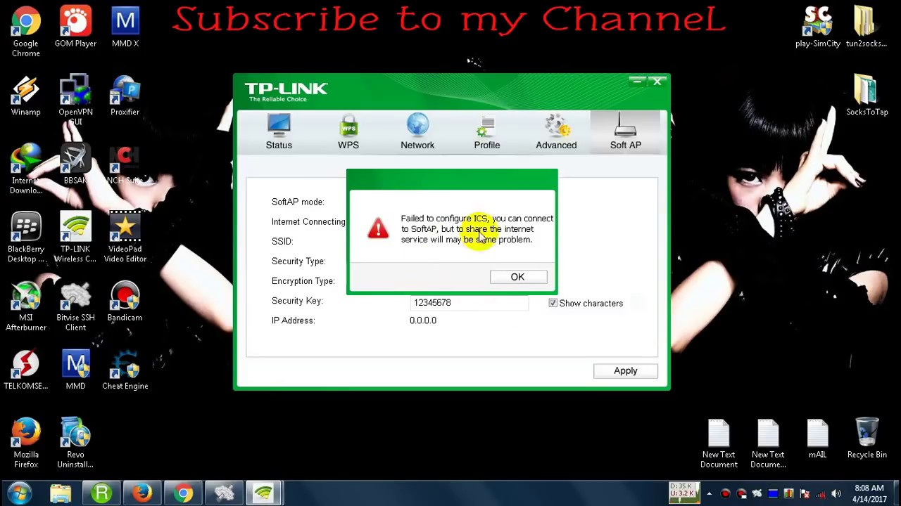 Windows 10 enable ics - How To Fix Failed To Configure Ics Tp Link Tl Wn722n Solved