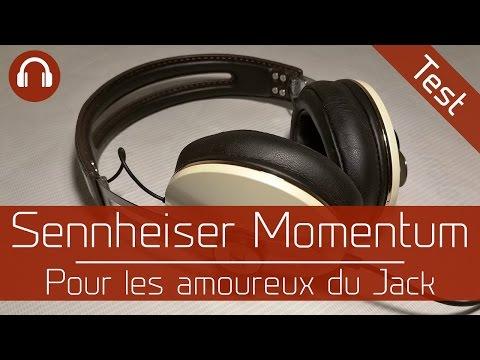 Test : Sennheiser Momentum Over Ear - Pour les amoureux du Jack
