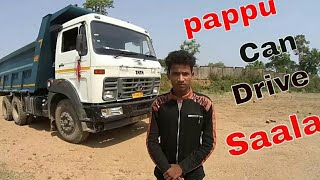 How to Drive HYVA  2518 Tipper( Step by Step ) with Pappu