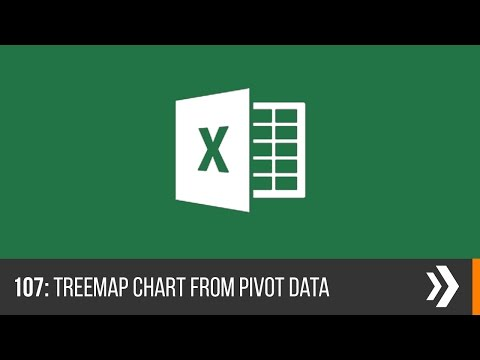 Excel Treemap Chart from Pivot Tables