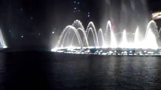 World Biggest Fountain Dance Show in Dubai Test Show 2