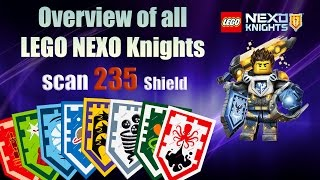 nexo knights powers / Nexo Shield Scan and Enjoy / нексо найтс щиты