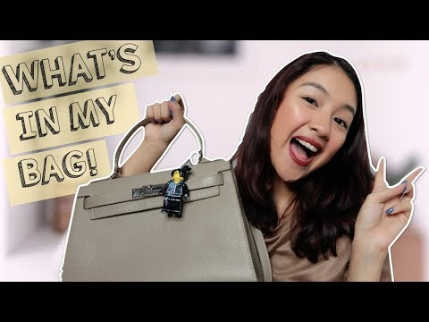 What's In My Bag (Philippines) | Rei Germar