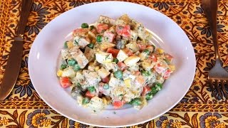 Potato Salad Recipe With Tangy Yogurt Dressing
