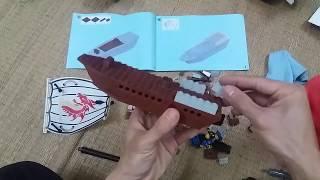 Trò Chơi Ghép Tàu Chiến LeGo Super Brave  ❤️ Lego warship Toys ❤️  PhongChi  ToysReview TV