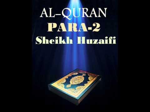 Sheikh Huzaifi-Para 2 (Quran Recitation)