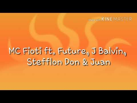 Bum Bum Tam Tam- MC Fioti ft. Future, J Balvin, Stefflon Don & Juan (LETRA)