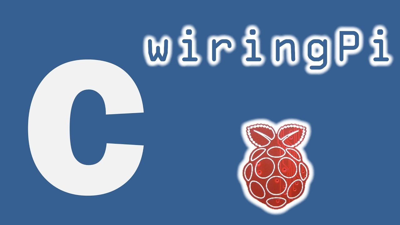 writing to gpio pins in c using wiringpi on the raspberry pi youtube rh youtube com wiringpi gpio examples